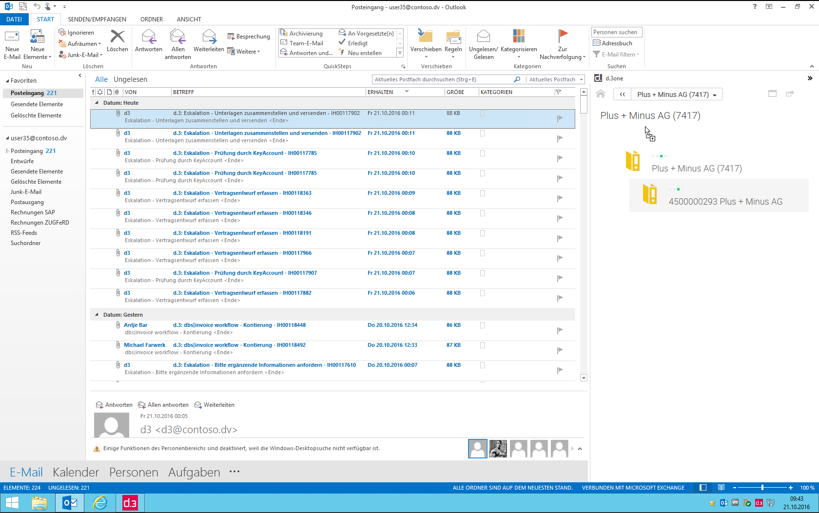d.3 ECM - Integration with MS Office